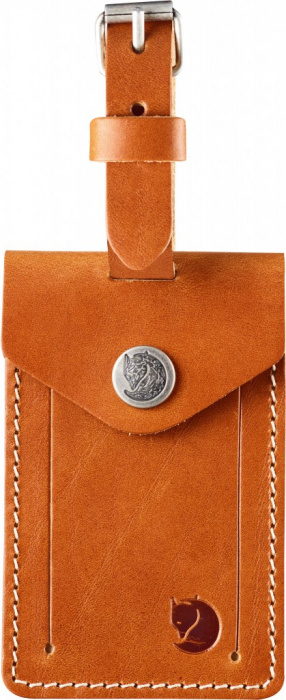 detail Leather Luggage Tag