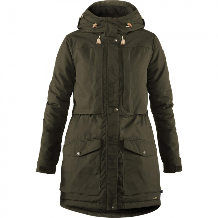 detail Singi Wool Padded Parka W